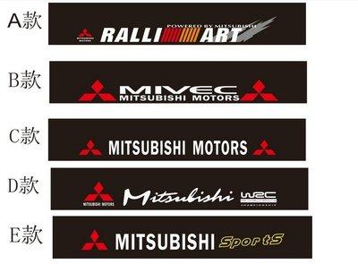 三菱Mitsubishi Outlander Zinger Pajero Lancer 前擋貼紙 擋風車貼 前窗標誌/貼