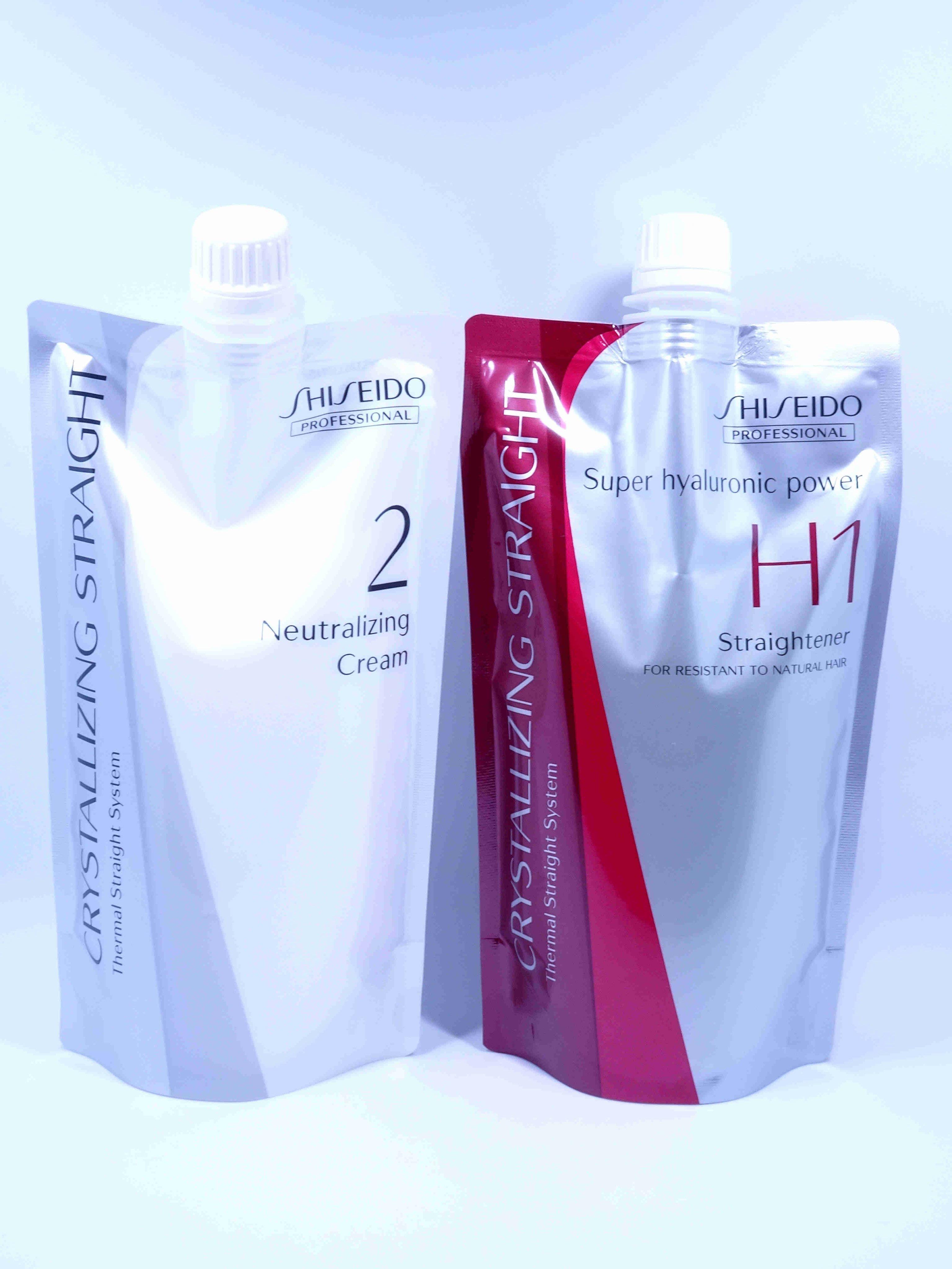 (華明)日本SHISEIDO 資生堂 水質感 H 燙髮劑(超自然鬈專用)隨時可面交.自取.超取.新包裝