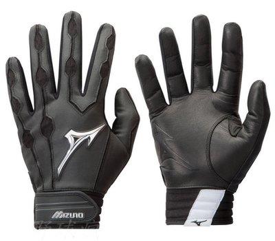 ((綠野運動廠))最新款Mizuno Convert棒壘用打擊手套,掌面羊皮舒適柔軟耐用,服貼性佳~優惠促銷中~