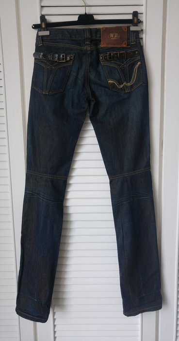 原價一萬六 Replay 藍色直筒褲