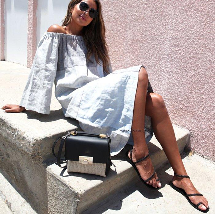 【代購】Ancient Greek  編織 皮革 羅馬 涼鞋