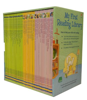 *小P書樂園* Usborne My Very First Reading Library 50 Books Set C