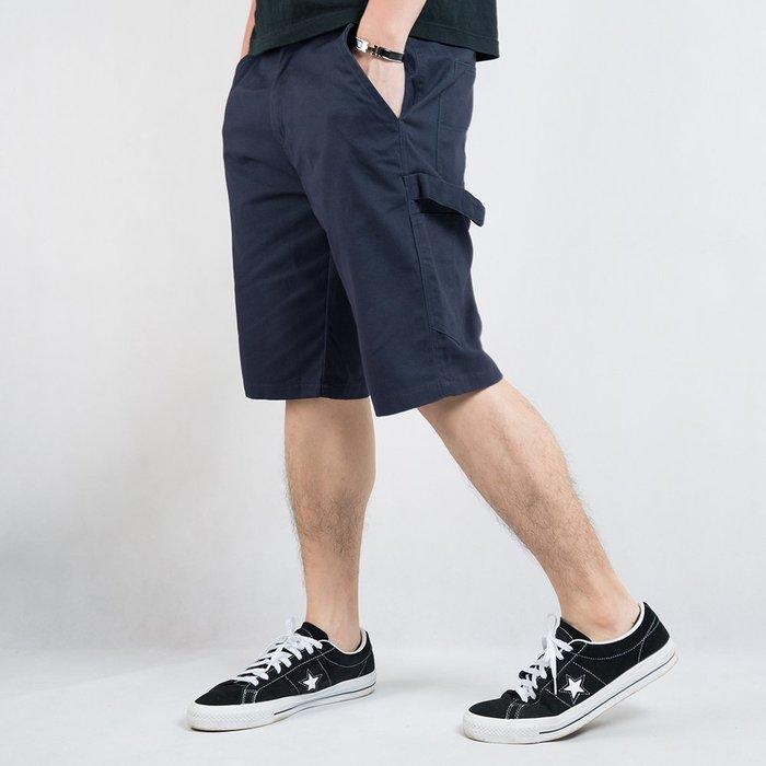 【Random】【素面工作短褲】 素面 短褲  黑 藍 卡其 灰  M~2XL
