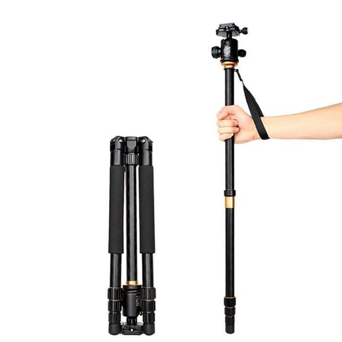 輕裝時代Q999單反相機三腳架云台套裝佳能便攜攝像攝影專業照相