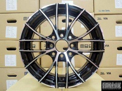 【CS-377】限量款 類OZ 全新鋁圈 14吋 4孔100 / 4孔114.3 菱利 威力 VIOS SOLIO K6