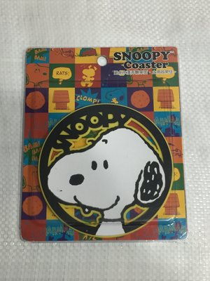 Snoopy 史努比狗狗 止滑杯墊 防滑 正版授權 Peanuts Charlie Brown 查理布朗 史奴比