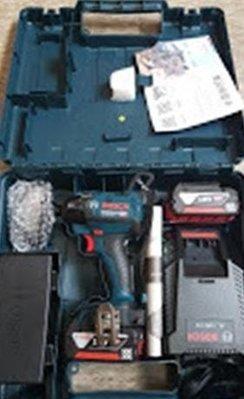 【花蓮源利】雙4A組 GDR18V-EC 博世 BOSCH 18V鋰電無刷衝擊起子機 非 GDX 12V 10.8V