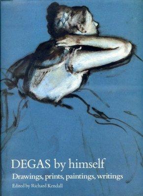 紅蘿蔔工作坊/藝術 繪畫=DEGAS by himself--大本畫冊  (英文書--精裝本)