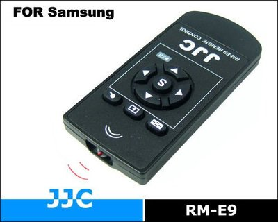 我愛買#JJC三星Samsung紅外線遙控器RM-E9同SRC-A3 SRC-A5適EX1 NV7 NV8 WB550