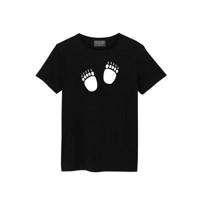 T365 腳印 足跡 足印 痕跡 07款 T恤 男女皆可穿 多色同款可選 短T 素T 素踢 TEE 短袖 上衣 棉T
