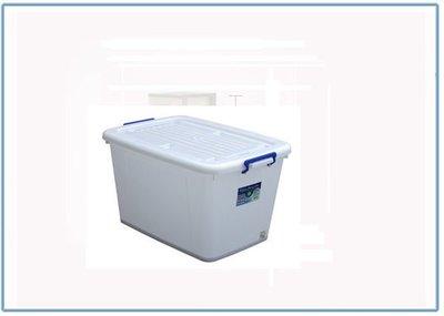 『 峻 呈 』(全台滿千免運 不含偏遠 可議價) 聯府 K1201 滑輪 整理箱 收納 衣物箱 可往上堆疊收納箱 置物箱