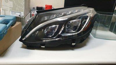 【MKB TUNING】BENZ W205  原廠全新件 雙魚眼LED大燈 頭燈 尾燈也有現貨