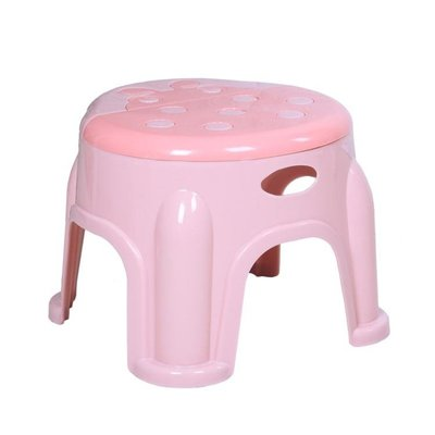 塑料凳子加厚家用兒童卡通小凳子圓凳防滑...