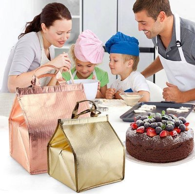 ▪6吋▪蛋糕輕便型保溫保冷袋/ 冷藏袋/ 鋁箔保鮮保冷包(附贈注水型保冰袋喔!) 新北市