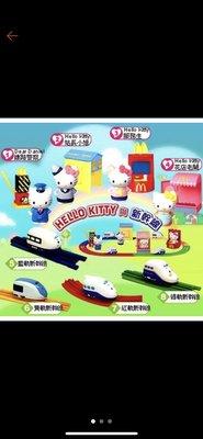 麥當勞2003年Hello Kitty與新幹線大全套八款直購價888元{只有一組}