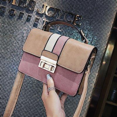 XINXIN女包小包韓版 時尚新款 日韓系列 迷人包 女生包包女新款秋季女包手提包時尚撞色潮百搭斜挎包小方包