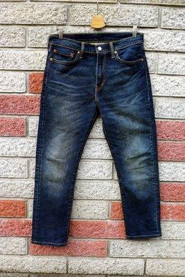 levis 510 二手牛仔褲-正品 窄管 彈性-(levis 05510-0737)-W32 新北市