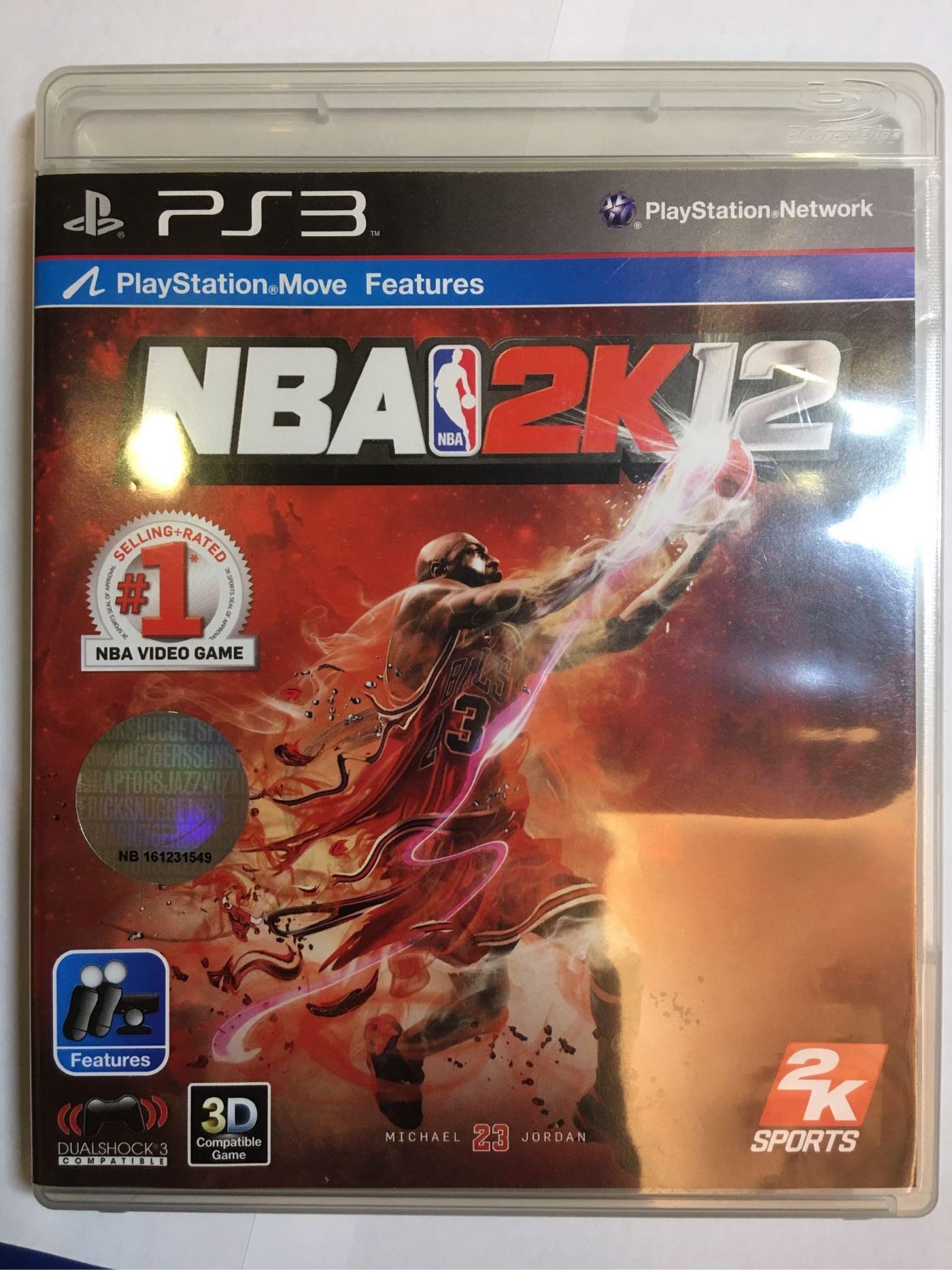 PS3 NBA 2012
