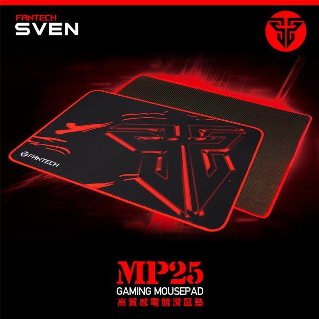 【FANTECH】MP25 速度型精密防滑電競滑鼠墊 感應快速 超強防滑 25x21x0.2cm
