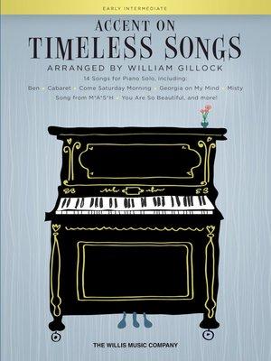 【599免運費】Accent on Timeless Songs 重讀永恆的歌曲 / HL00278505