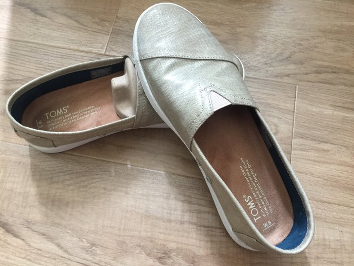 Toms 女鞋 W8 二手