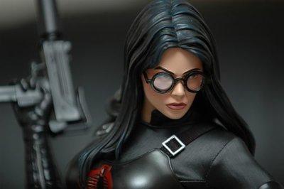 【烏龍1/2】sideshow 特種部隊 正面對決 眼鏡蛇的崛起 Baroness 男爵夫人 特別版 pf 雕像