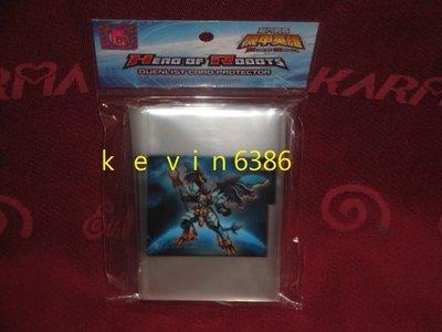 東京都-機甲英雄-機鬥勇者遊戲保護卡套(內附1張亞馬遜戰士限定卡)(50枚入) 現貨