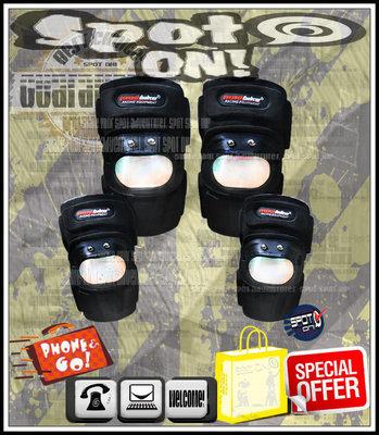 Spot ON - MAD BIKE 原廠 S10 金屬護具-短款四件式 - 護肘/護膝組! 毒蛇 日月潭 SMAX