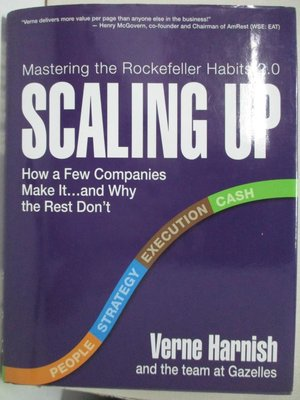 【書寶二手書T1/大學理工醫_KP1】Scaling Up: How a Few Companies Make It…