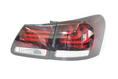 ~~ADT.車燈.車材~~LEXUS GS300 GS350 GS430 GS450 06~12 LED光柱紅白尾燈一組