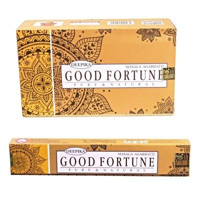[晴天舖] 印度線香 DEEPIKA Good Fortune 好運 銷售日本 新品精緻上市