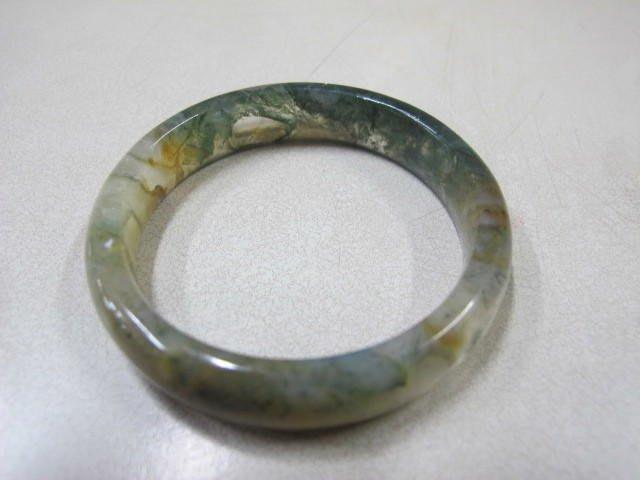 二手鋪 NO.780 頂級天然海藻玉 手環 玉環 玉鐲