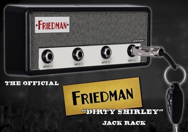 《民風樂府》Pluginz The Jack Rack 音箱造型鑰匙圈收納盒 FRIEDMAN壞雪莉款