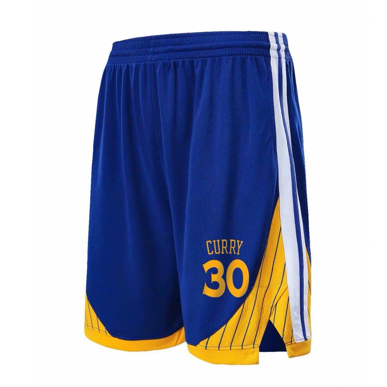 🔥柯瑞Stephen Curry庫里運動籃球短褲🔥NBA球衣勇士隊Nike耐克愛迪達健身訓練慢跑五分純棉褲子男381