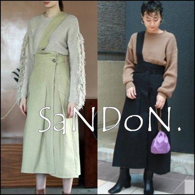 SaNDoN x『todayful』各一件 設計感斜邊吊帶長裙 可愛~大推薦 SLY SNIDEL 181204