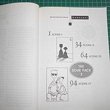 罕見絕版~《THE SOUR PACK~醋溜族1-2原文版》2本合售新加坡亞太書籍 民1993初版【 CS超聖文化2讚】