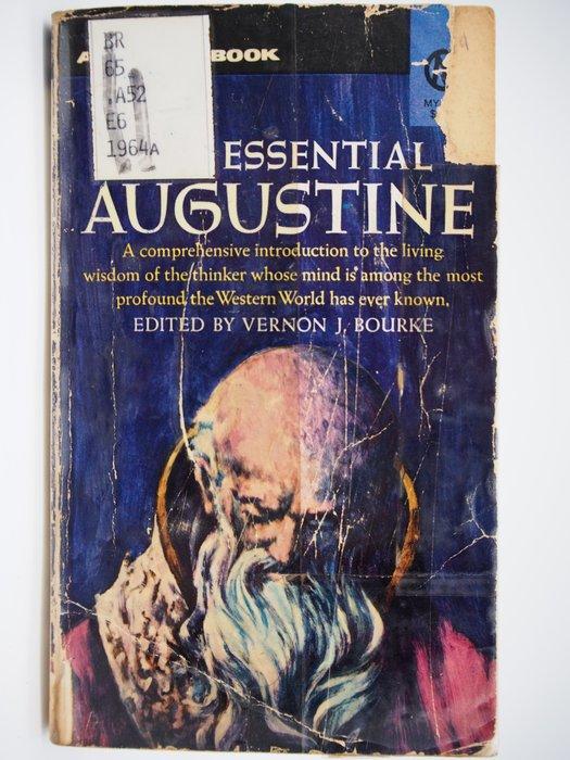 【月界】The Essential Augustine(絕版)_Vernon J. Bourke_神學 〖宗教〗CHX