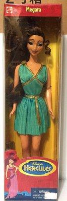 【Barbie 芭比收藏館】Disney 1997【大力士海克力士 Hercules Megara】17261 絕版逸品