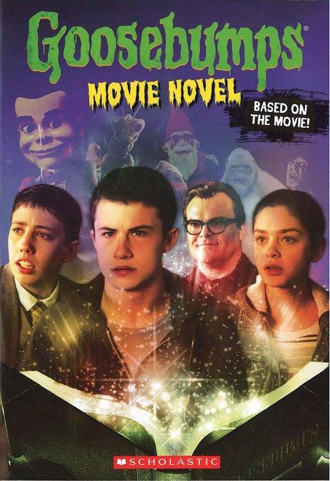 *小貝比的家*GOOSEBUMPS MOVIE NOVEL (怪物遊戲)/平裝/12以上/電影小說