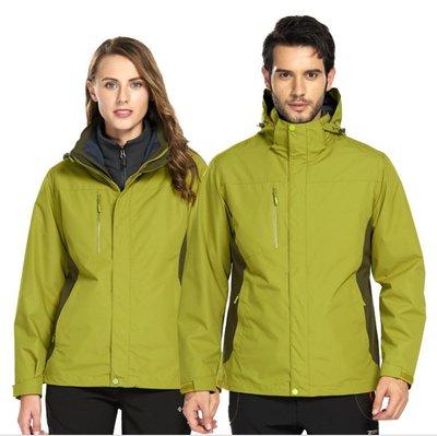 ☀無憂戶外☂泰森狼衝鋒衣防風防水加棉加厚戶外工作服保暖棉服情侶款滑雪服 K4224