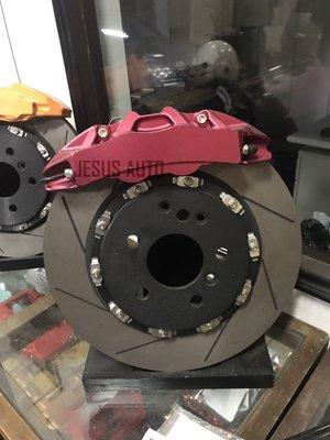 三菱VIRAGE/FORTIS/SAVRIN鋁合金鍛造四活塞卡鉗 303mm 355MM 卡鉗 活塞 制動系統 客製化