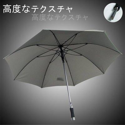 【RainBow雨傘】質男_Mettle -撥水直立傘/長傘(灰) /自動傘防風傘大傘抗UV傘陽傘洋傘直傘 (免運)