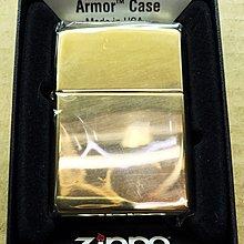 《潮流本舖》正品ZIPPO 亮金色 基本款 燃油打火機 煤油打火機