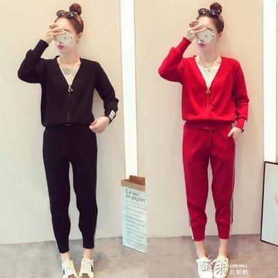 春季韓國寬鬆時尚兩件套裝裙子春秋天女士休閒淑女裝衣服 良品世佳