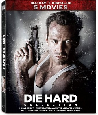 BD 全新美版【終極警探 1~5 合輯】【Die Hard Collection】Blu-ray 藍光 布魯斯威利