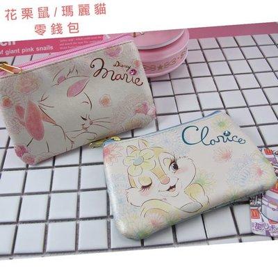 【鉛筆巴士】現貨! 花栗鼠 瑪麗貓 粉色零錢包- 迪士尼Disney 可愛 日系 錢包 奇奇蒂蒂 手拿包k1701040