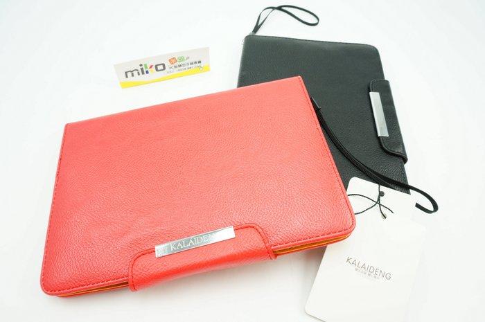 台南米可【MIKO手機館】卡來登 APPLE iPAD MINI1/2 側翻磁扣皮套 附繩帶 可立保護套 卡夾皮套IC5