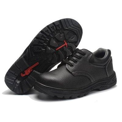 勞保鞋勞保鞋男耐酸堿鋼包頭防穿刺耐油酸堿電焊工鞋工作鞋防護鞋安全鞋 好康免運