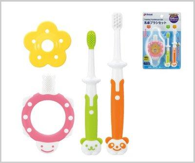 [小寶的媽] 利其爾Richell 乳牙訓練牙刷套組 981771