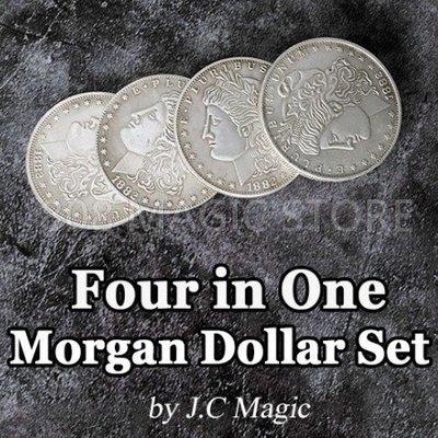 [808 MAGIC]魔術道具 高品質銅製摩根四合一套裝組